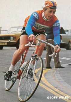 Brit Geoff Wiles rode for Holdsworth - Campagno from 1971 - 1978 Vintage  Bike Parts 99160d16c