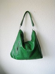 sping green bag