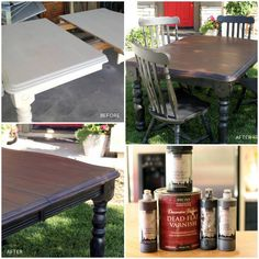 "The lovely Karen of Redoux shares ""how to make anything look like real wood"" and she recommends our Platinum Series products and Dead Flat Varnish. Great Before & After! http://www.redouxinteriors.com/2012/07/how-to-make-anything-look-like-real-wood/"