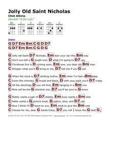 Ukulele Songs To Play, Christmas Ukulele Songs, Christmas Piano Music, Xmas Songs, Ukulele Tabs, Music Chords, Guitar Sheet Music, Music Lyrics, Music Music