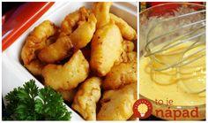 Skvelé cestíčko – používam ho aj na cuketu a karfiol. Chutí hlavne deťom, ale zamilujú si to aj dospeláci. Vyskúšate aj rôzne koreniny a bylinky, je to naozaj veľká pochúťka. Cauliflower, Potatoes, Vegetables, Cooking, Ethnic Recipes, Ale, Baking Center, Head Of Cauliflower, Potato