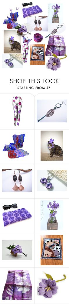 Lilac by anna-recycle on Polyvore featuring Rustico, Global Goods Partners, modern, rustic and vintage