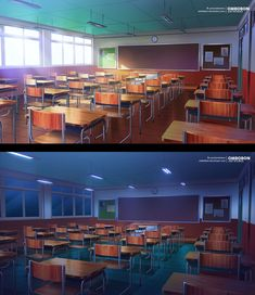 commission for crow visuals Meme Background, Kitchen Background, Classroom Background, Scenery Background, Anime Backgrounds Wallpapers, Anime Scenery Wallpaper, Aesthetic Pastel Wallpaper, Colorful Backgrounds, Anime Classroom