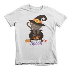 Halloween Kids Shirt - Too Cute to Spook