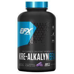 EFX SPORTS KRE-ALKALYN EFX CREATINE - 240 Capsules, $28.99