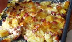 Czech Recipes, Ethnic Recipes, Hawaiian Pizza, Macaroni And Cheese, Food And Drink, Recipies, Mac And Cheese