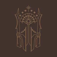 The Black Gate Sigil design on @TeePublic!