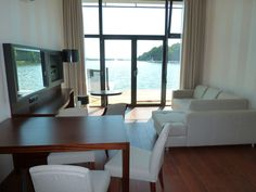 #Lake View Apartment is a comfortable place with living room, bedroom, bathroom and kitchenette.