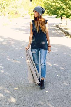 My Boyfriend's Jean | Styled Avenue