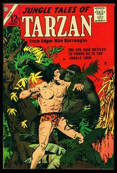 Planet Comics, Charlton Comics, Will Eisner, Sci Fi Comics, The Lost World, Science Fiction Art, God Of War, Vintage Comics, Tarzan