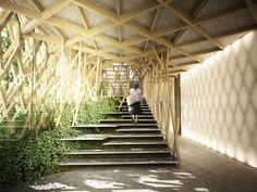 sunny hills japan shop by kengo kuma - designboom | architecture & design magazine