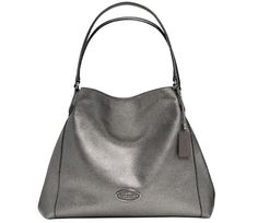 Fall is coming!  Check this #Coach  EDIE SHOULDER BAG in metallic leather.  European in style and yet affordable.  Save up to $31.88 when you register for a #cashback  here:  http://www.dubli.com/T0US173Y3