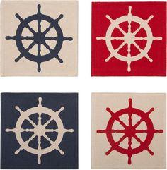 ship wheel graphic