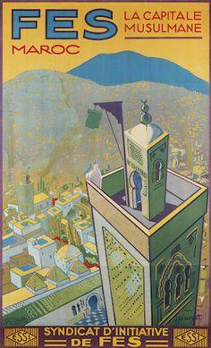 Fes, la capitale musulmane - (J. E. Laurent) -