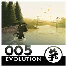 Monstercat Reimagined Album Art 005: Evolution by petirep