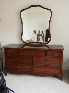 High Quality Gibbard Dresser With Mirror Found On MaxSold Estate Sales MirrorUnique FurnitureDressersAuctionMirrorsRoom IdeasDining