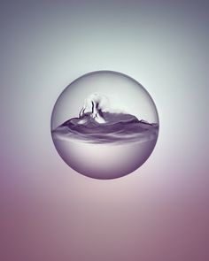 Day & Night - water study by Owen Silverwood, via Behance