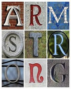 link to FREE letters (hundreds of each letter!) to use for your designs    http://www.flickr.com/photos/lwr/collections/72157594587080023/