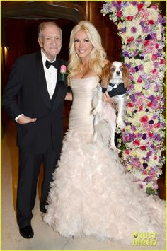 Crystal Harris married Hugh Hefner of Playboy fame on New Year's Eve at the Playboy mansion in Beverly Hills.