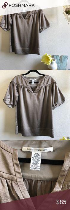 DVF 100% Silk Blouse Excellent condition, no stain, holes or notable damage. Diane von Furstenberg Tops Blouses