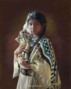 "Karen Noles (American, born 1947) ""Denika"" ~ won Best of the West award in 2013"