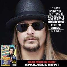 6 Things You Can Learn From Kid Rock. Yes, Really. - Features - Rock Sound Magazine