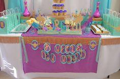Princess Jasmine Birthday Party Ideas   Photo 5 of 34   Catch My Party