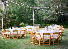 Lighting for outdoor wedding receptions | photography by http://justindemutiisphotography.com/