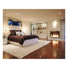 Globus Builder - contemporary - bedroom - los angeles - by Globus... ❤ liked on Polyvore featuring house, bedrooms, rooms, home and pictures