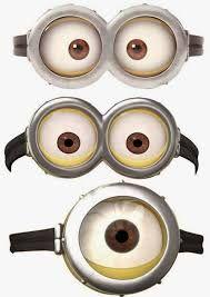 Resultado de imagen para imagenes para imprimir de ojos de minion