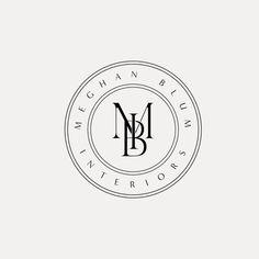 Self Branding, Logo Branding, Logo And Identity, Monogram Logo, Monogram Design, Initials Logo, Kreis Logo Design, Logo Café, Gym Logo