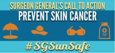 Nearly 5 million people are treated for skin cancer each year in the U.S.  Outdoor workers need to be aware of sun safety. More info at Call to Action to Prevent Skin Cancer