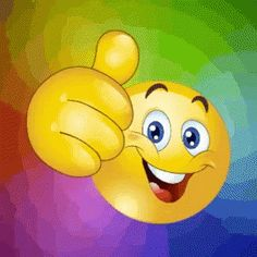 The perfect ThumbsUp Emoji Animated GIF for your conversation. Funny Smiley, Smiley Emoji, Funny Emoji, Animated Emoticons, Funny Emoticons, Animated Gif, Learning English For Kids, Emoji Images, Puff And Pass