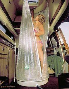 Shower in a camper