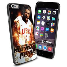 """LeBron James All Star NBA iPhone 6 4.7"""" Case Cover Protector for iPhone 6 TPU Rubber Case SHUMMA http://www.amazon.com/dp/B00WJD0704/ref=cm_sw_r_pi_dp_qYmovb06FY2V2"""