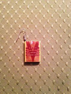 Mini Book Earrings: Slaughterhouse-Five by Kurt Vonnegut Mini Book Jewelry by GidgetsTreasures on Etsy #slaughterhousefive #kurtvonnegut #minibookjewelry #minibooks #bookcharms #bookearrings