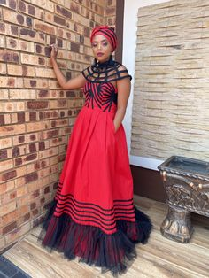 African Traditional Wedding, African Traditional Dresses, Traditional Wedding Dresses, Traditional Weddings, Xhosa, African Dress, African Fashion, Glamour, Bride