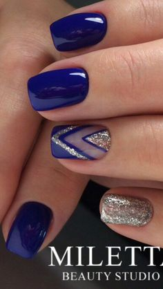 50 Blue Nail Art Designs Nail Art Pinterest Nail Art Nail
