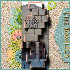A picture of the Basilica in D.C.  Kit used: We Belong by Tami Miller available at https://www.pickleberrypop.com/shop/manufacturers.php?manufacturerid=147  Template by Lindsey Jane.