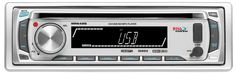 BOSS AUDIO MR648S Marine Single-DIN CD/MP3 Player Receiver, Detachable Front Panel, Wireless Remote