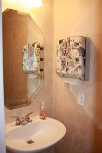 Great Way To Avoid Guest Towel Germs. Decorate A Paper Towel Dispenser For  The Bathroom!