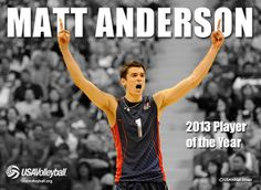 Happy Birthday to USA Volleyball national team member Matt Anderson! Download his wallpaper at usavolleyball.org