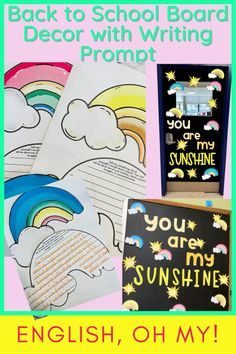 Are you looking for back to school board decor or classroom decor? These board decoration ideas will be perfect for your back to school bulletin board or your door. This board decor is vibrant, eye-catching, and are perfect for your middle school classroom.  Bulletin Board Ideas Middle School  Board Decorations  Classroom Decor  Bulletin Board Ideas for Teachers 