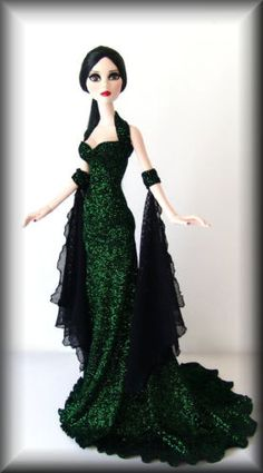 Fashions for Evangeline Ghastly ***~GREEN WITH ENVY~*** by DAO