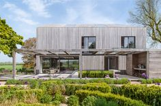 House in Oxfordshire, England, UK by Peter Feeny Architects.