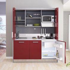 34 fantastiche immagini su cucine per piccoli spazi nel 2019 small spaces kitchen seating e - Armadio cucina monoblocco ...