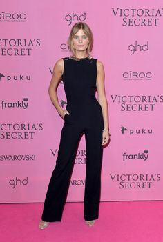 Pin for Later: The Pink Carpet Was Just as Hot as the VS Runway Constance Jablonski Covered up, but just as sexy.
