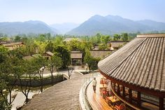 Stop at Six Senses Qing Cheng Mountain to discover the wonders of Chengdu. The hotel offers guests a range of services and amenities designed to provide comfort and convenience. Take advantage of the hotel's free Wi-Fi in all rooms, casino, f Sala Thai, Senses Spa, Weekend Breaks, Chengdu, Mountain Resort, Hotels And Resorts, Luxury Hotels, Resort Spa, Luxury Travel