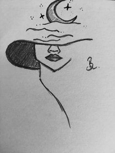 Indie Drawings, Easy Doodles Drawings, Doodle Art Drawing, Dark Art Drawings, Art Drawings Sketches Simple, Pencil Art Drawings, Cute Drawings, Cool Simple Drawings, Abstract Face Art