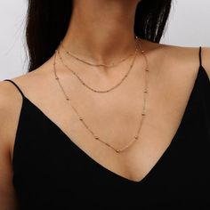 Multi Strand Pearl Necklace, Tree Necklace, Gold Choker Necklace, Necklace Chain, Necklace Length Chart, Necklace Lengths, Necklace Guide, Baseball Necklace, Jewelry Gifts
